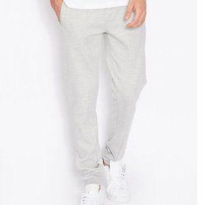 TOPMAN Panelled Skinny Sweatpants Gray M